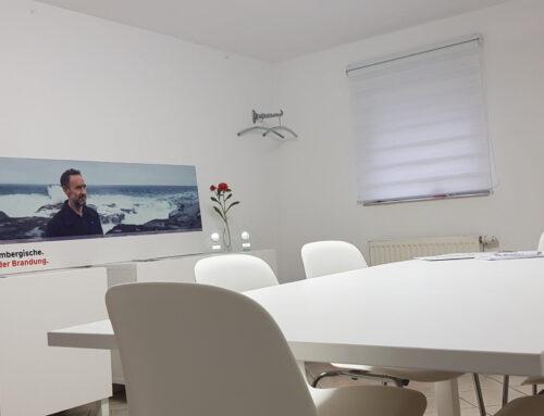 Unser Büro im neuen Look!