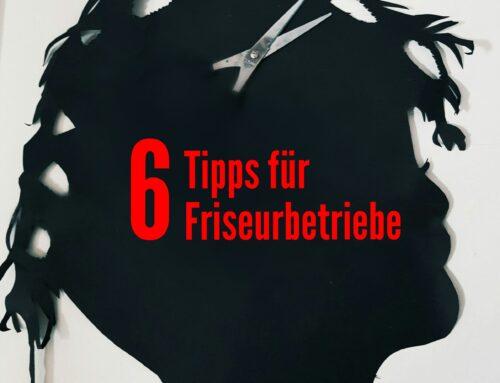 6 Versicherungstipps für Friseurbetriebe